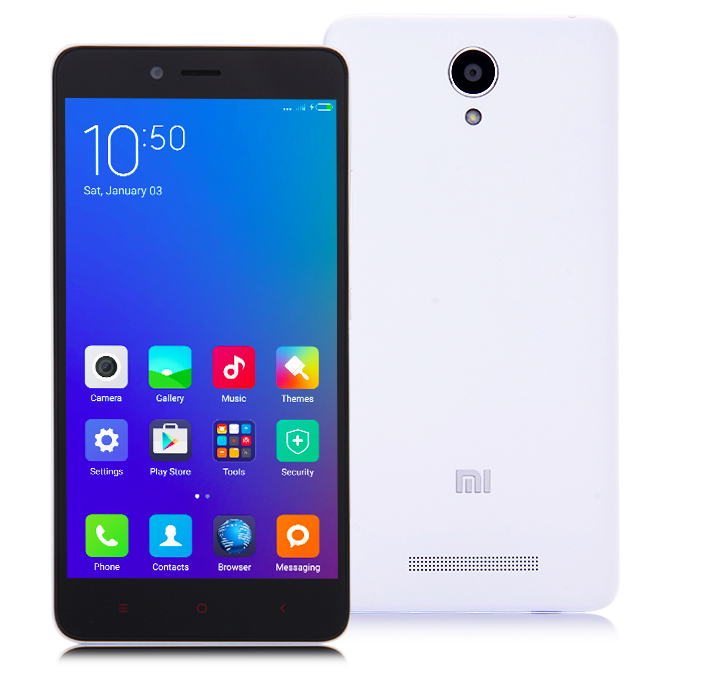 Смартфон Xiaomi Redmi Note 2 16Gb White