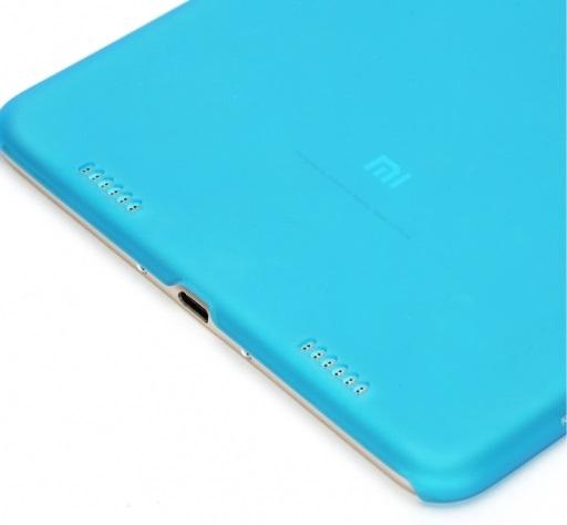 Чехол Xiaomi MiPad 2 TPU Case Blue (для Xiaomi MiPad 2, защитный кожух (Full Body), пластик/полиуретан,
