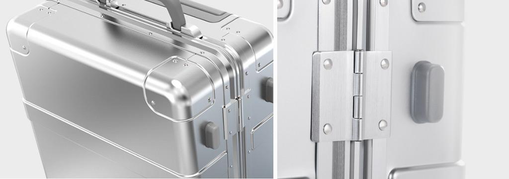 Чемодан Xiaomi 90 Points Xiaomi Mi Metal Carry-on Luggage (31л, алюминиево-магниевый высокопрочный м