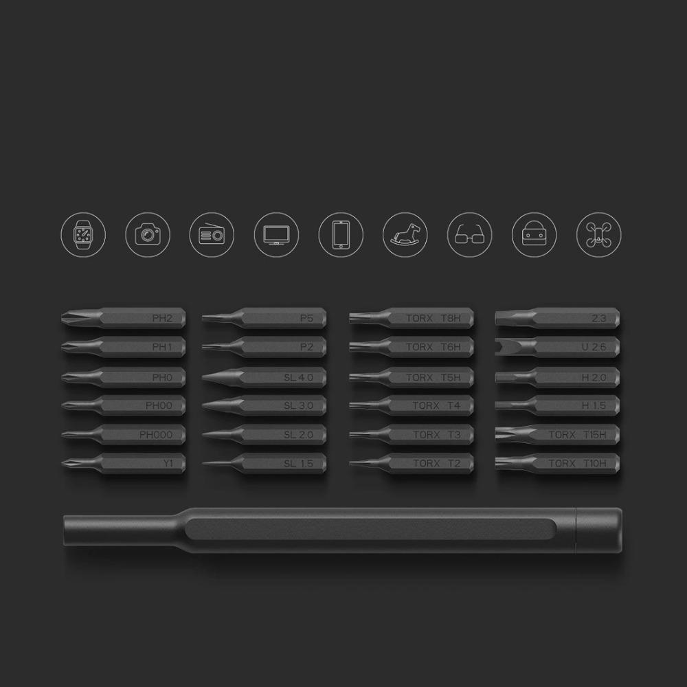 Набор отверток Xiaomi Mi x Wiha Precision Screwdriver (MJJXLSD002QW (сталь S2, 24 магнитных биты для
