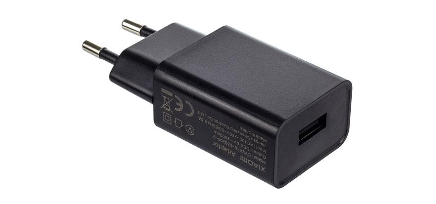 Купить Сетевое зарядное устройство Xiaomi, QC3.0 1*USB Black в России по выгодной цене и с быстрой доставкой