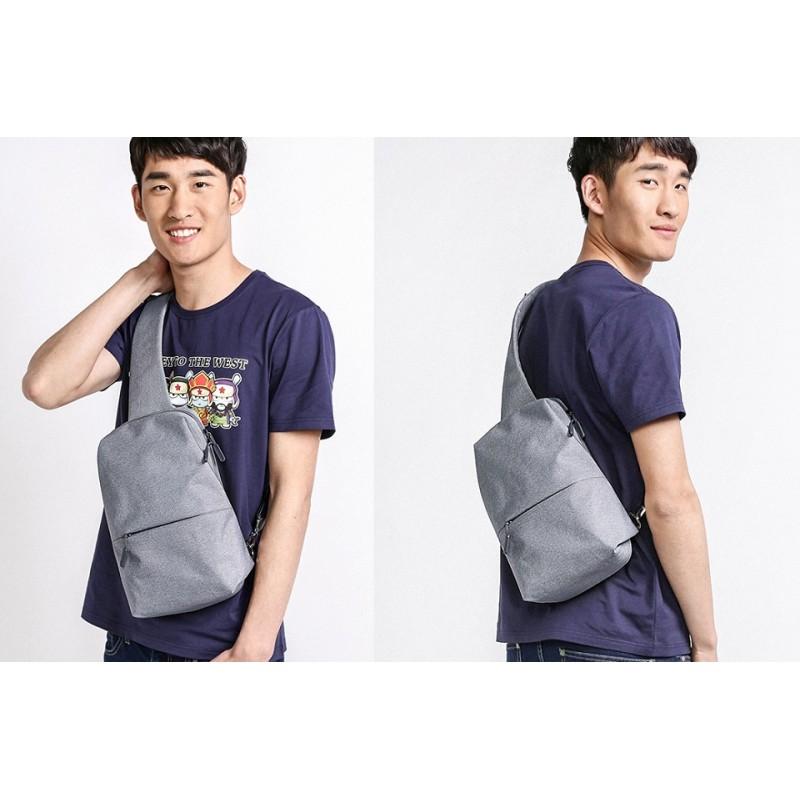Сумка Рюкзак Xiaomi Mi City Sling Bag Dark Grey