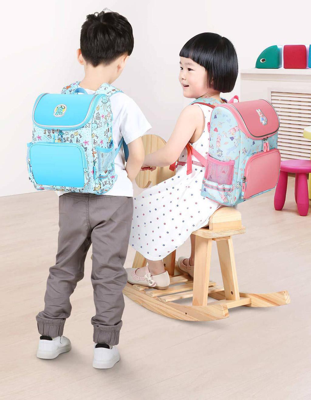 Сумка Детский рюкзак Xiaomi School Children Small Bag Blue