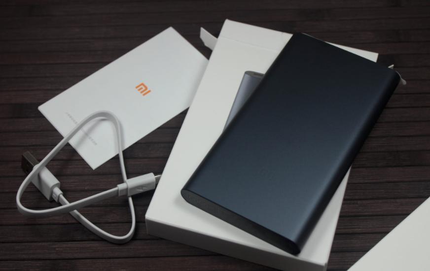 Внешний аккумулятор Xiaomi Mi Power Bank 10000mAh V2.0 Silver
