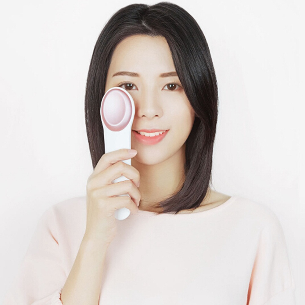Массажер для глаз Xiaomi Le Fan Eye Hot and Cold Massager Pink (массажер для глаз и лица, 6Вт, 160г)