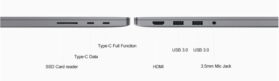 Ноутбук Xiaomi Mi Notebook Pro 15.6 (i5/8/256/GTX1050)