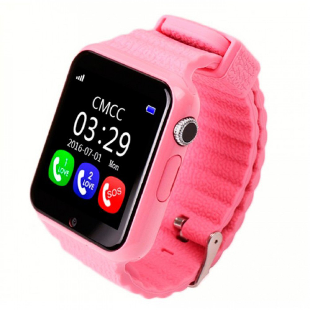 Smart Baby Watch SBW_2 Pink