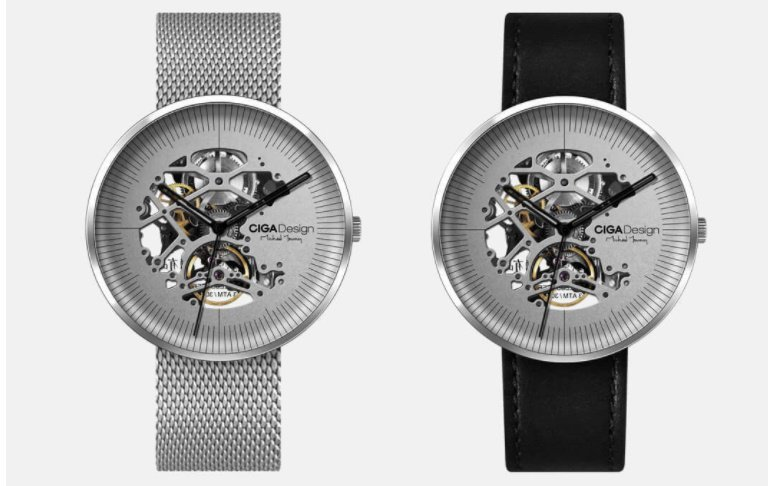 Часы Часы Xiaomi CIGA Design Mechanical Watch Jia MY Series Black