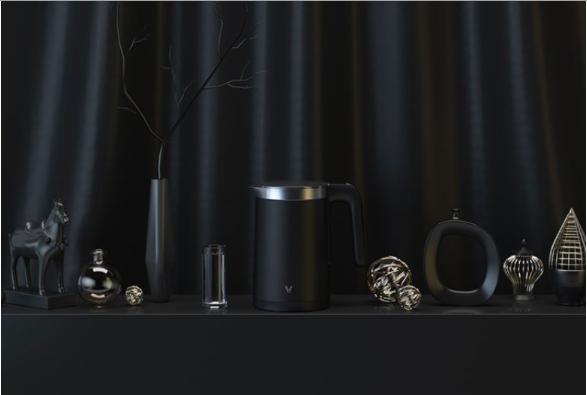 Чайник Xiaomi Viomi Smart Kettle Bluetooth Black (1.5л, легированная сталь 06Cr19Ni10, температура 4