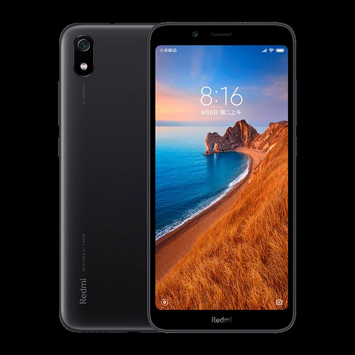 Купить Xiaomi Redmi 7A 2/16Gb Matte Black  в России по выгодной цене и с быстрой доставкой