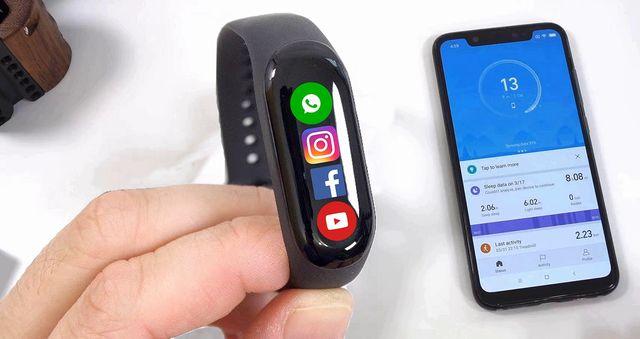 Фитнес-браслет Xiaomi Mi Band 4 NFC