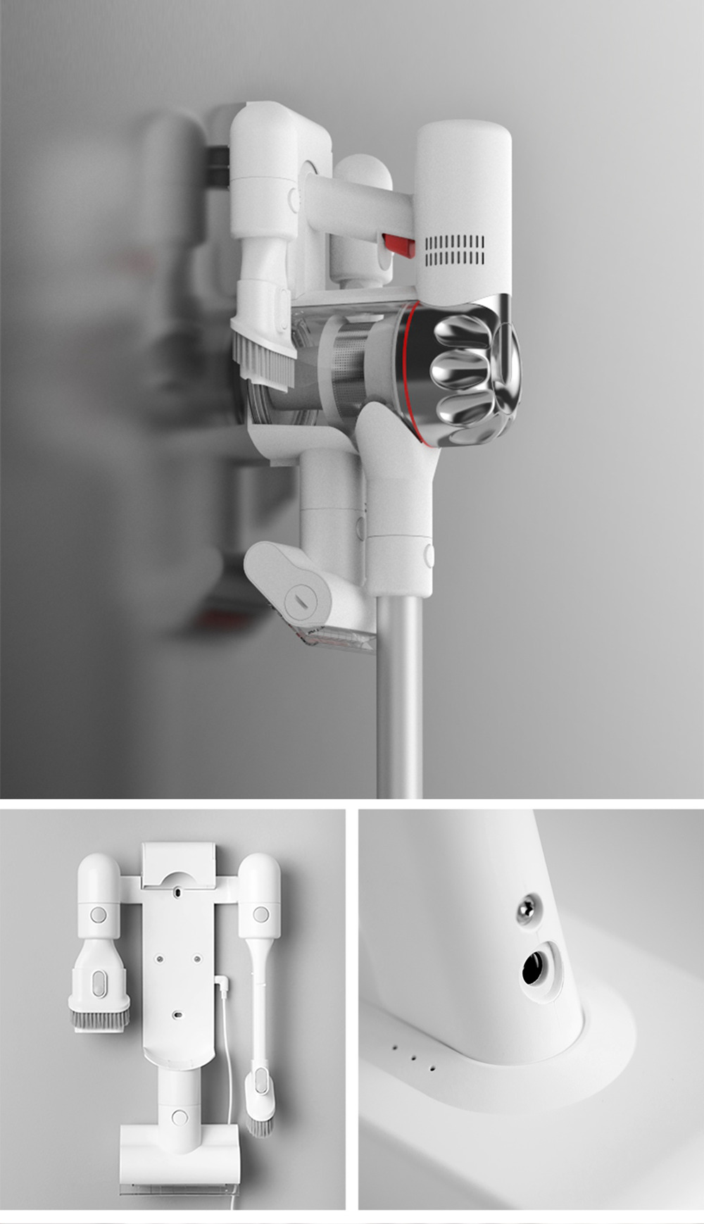 Ручной пылесос Xiaomi Dreame V9 White