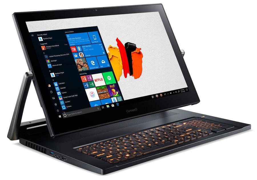 Объявления Ноутбук Трансформер Acer Conceptd 9 Pro Cn917-71P-98En Core I9 9980Hk/32Gb/Ssd1Tb+1Tb/Nvidia Quadro (17.3, Волжск