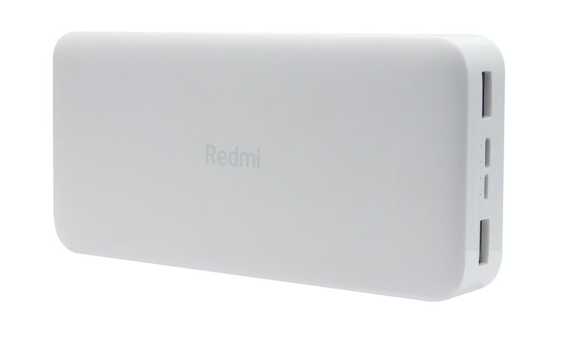 Внешний аккумулятор Xiaomi Redmi Power Bank 20000mAh Fast Charge 18W White