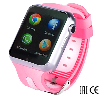Smart Baby Watch SBW_3G Pink