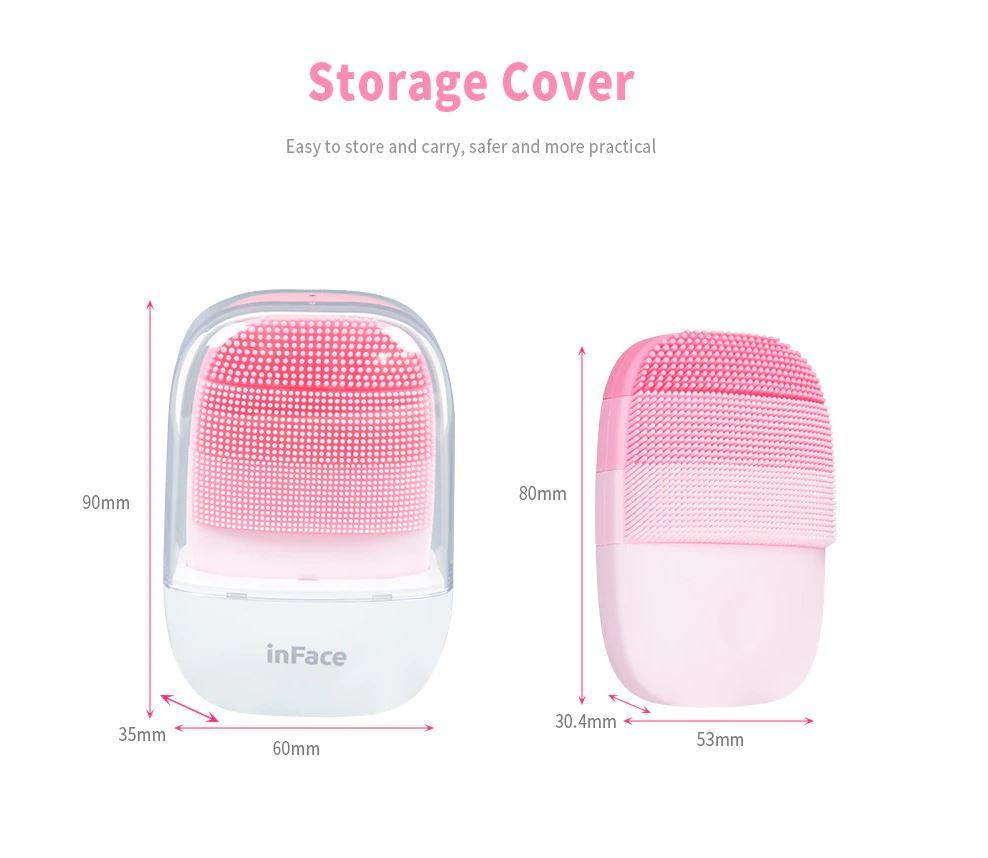 Массажер Xiaomi inFace Small Cleansing Instrument Deep Cleanse Orange