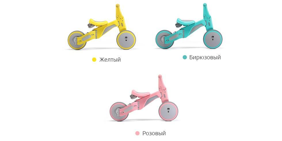 Детский велосипед-трансформер 700Kids TF1 Yellow