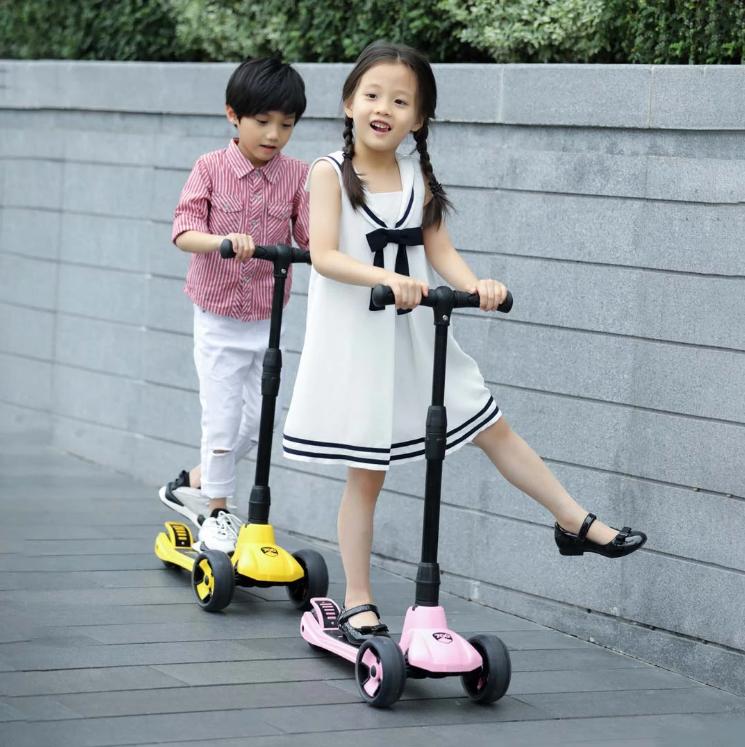 Детский Самокат Xiaomi 700Kids Scooter Pink