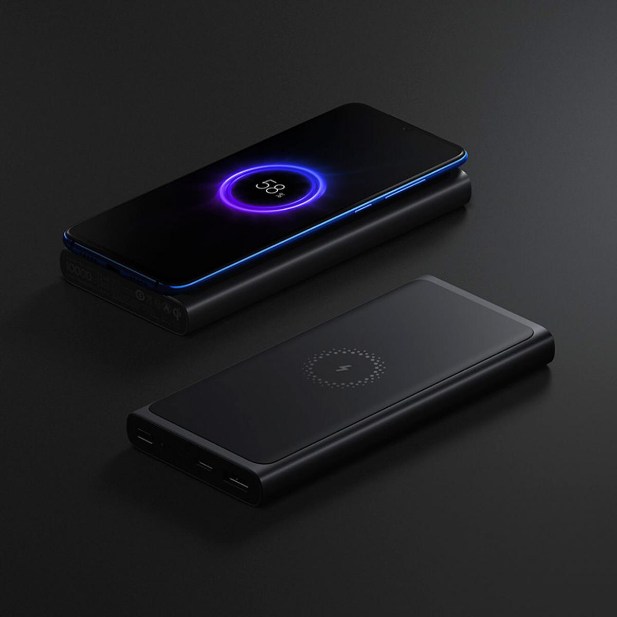 Внешний аккумулятор Xiaomi Mi Wireless Power Bank 10000mAh Essential (Black)