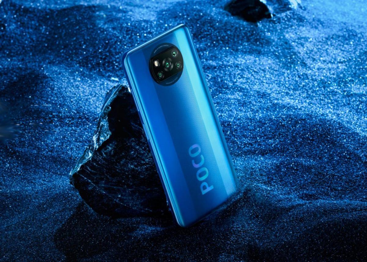 Купить Xiaomi POCO X3 NFC 6/128Gb Cobalt Blue  в России по выгодной цене и с быстрой доставкой