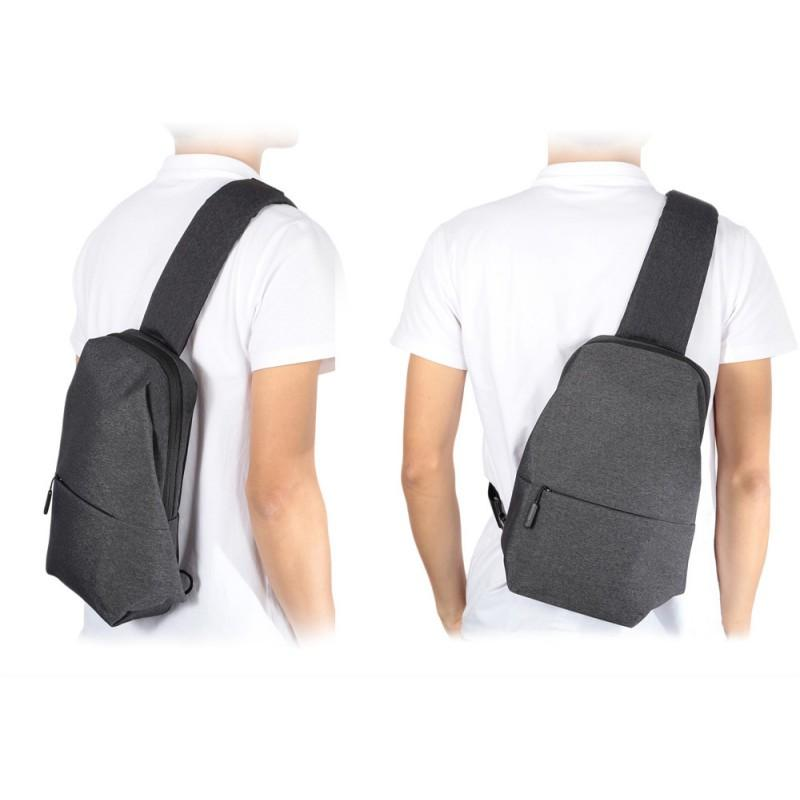 Сумка Рюкзак Xiaomi Mi City Sling Bag Light Grey