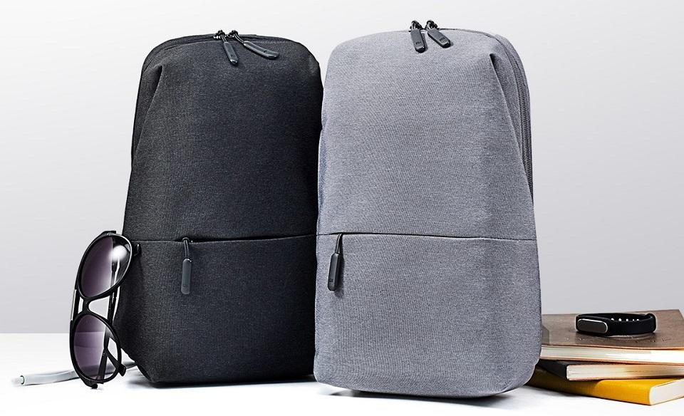 Сумка Рюкзак Xiaomi Mi City Sling Bag Black
