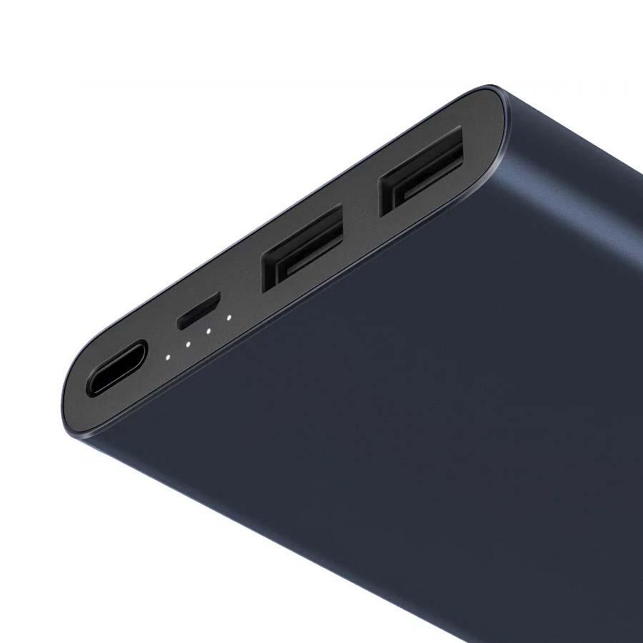 Внешний аккумулятор Xiaomi Mi Power Bank 2S 10000mAh Black (VXN4230GL)