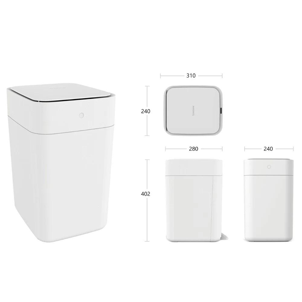 Объявления Умное Мусорное Ведро Xiaomi Townew Smart Dust Bin T1 (Функция Стерилизации, Компрессия Мус Новая Ладога