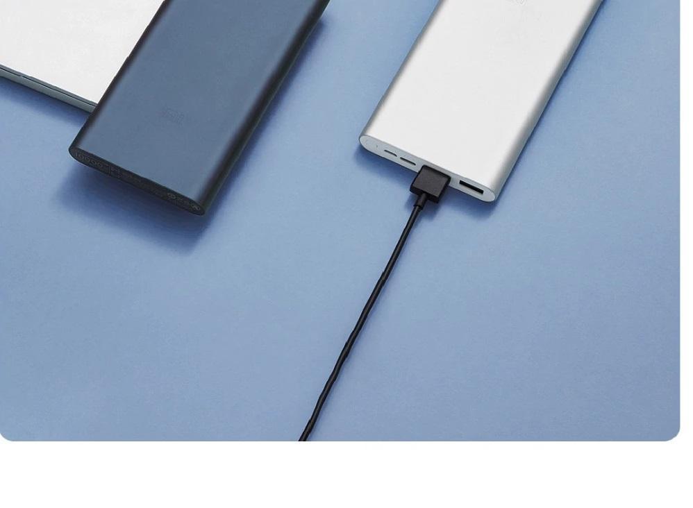 Внешний аккумулятор Xiaomi Mi Power Bank 3 Fast Charge 18W 10000mAh Silver