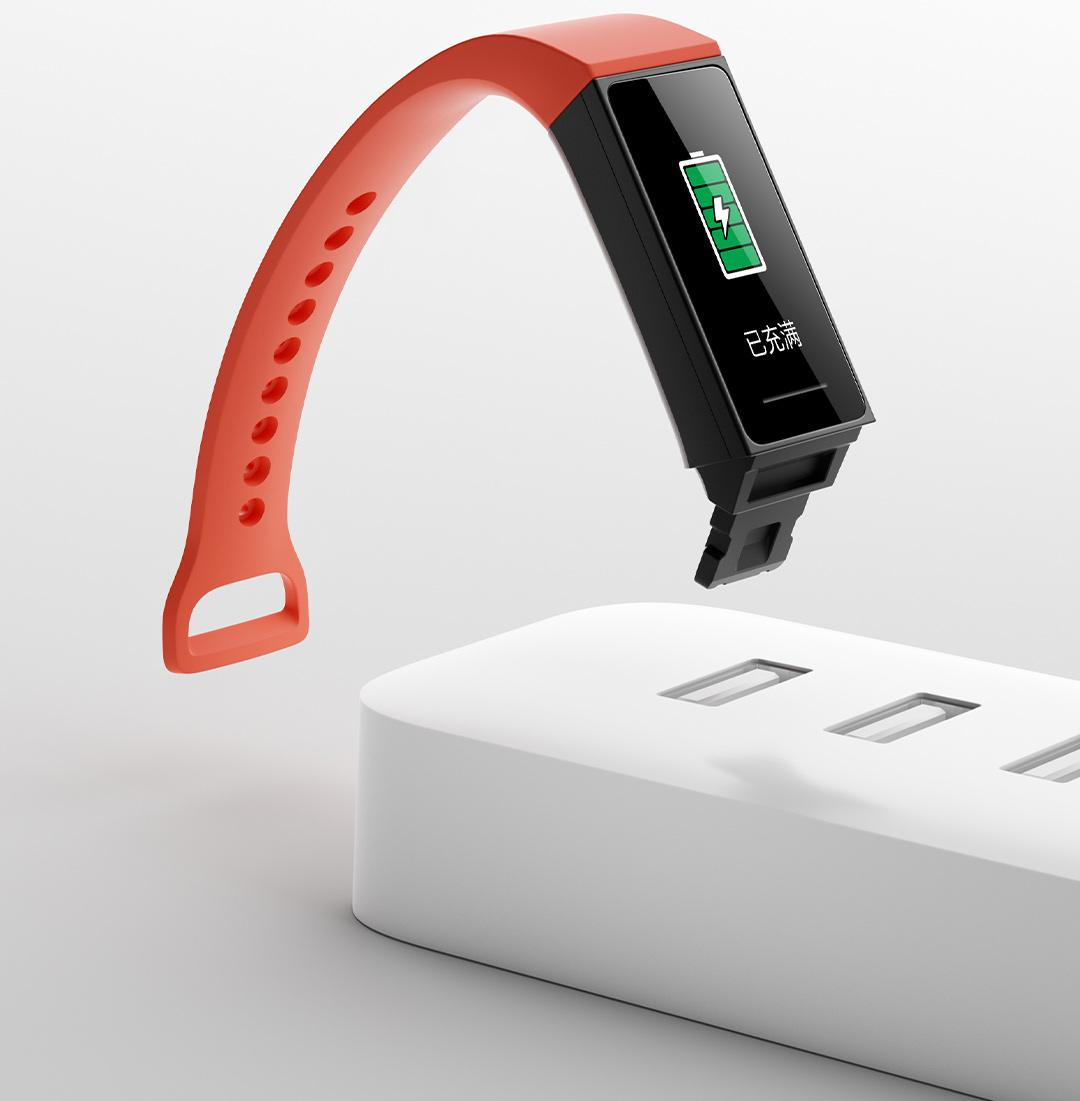 Ремешок Xiaomi Mi Smart Band 4C Strap (Orange)