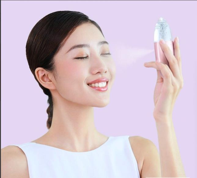 Xiaomi Ultrasonic Facial Steamer Gold (ультразвуковой увлажнитель для лица, компактный)