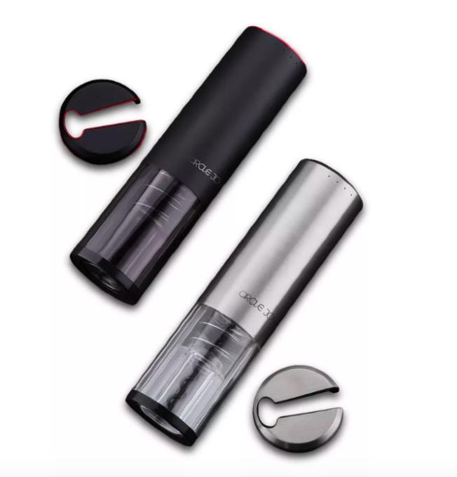 Штопор Xiaomi Circle Joy Wine Opener Silver (CJ-EKPQ02) (электрический штопор, темно-серебристый/про