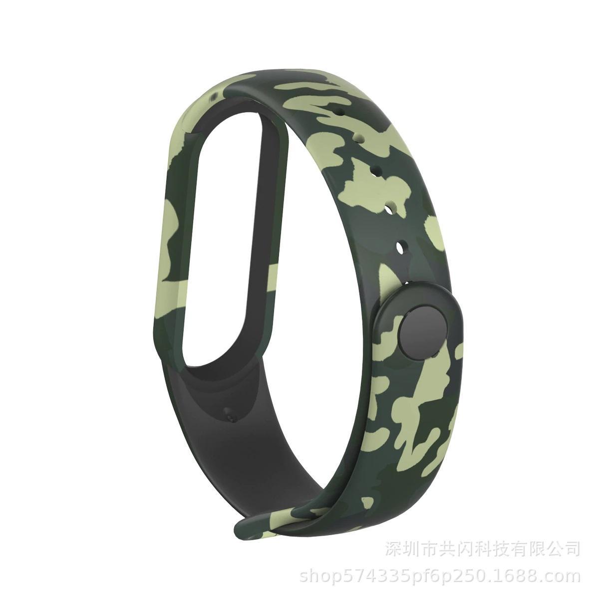 Mi Band 5 Wrist Silicon Strap Art 6 (для Xiaomi Mi Band 5, браслет или ремешок, черн (для Xiaomi Mi