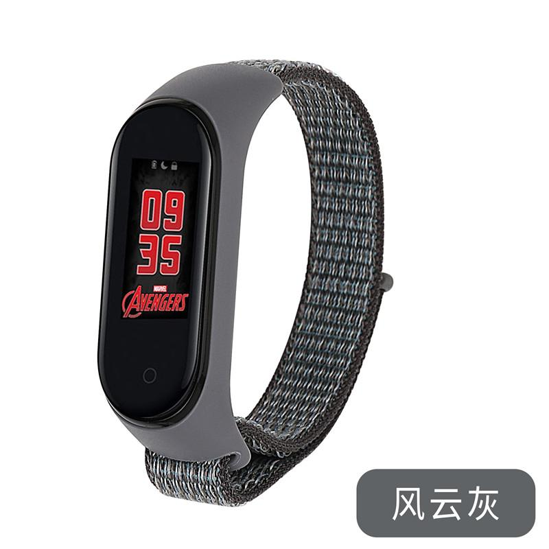 Mi Band 5 Wrist Strap Apple Like Iron anchor Gray (для Xiaomi Mi Band 5, браслет или (для Xiaomi Mi
