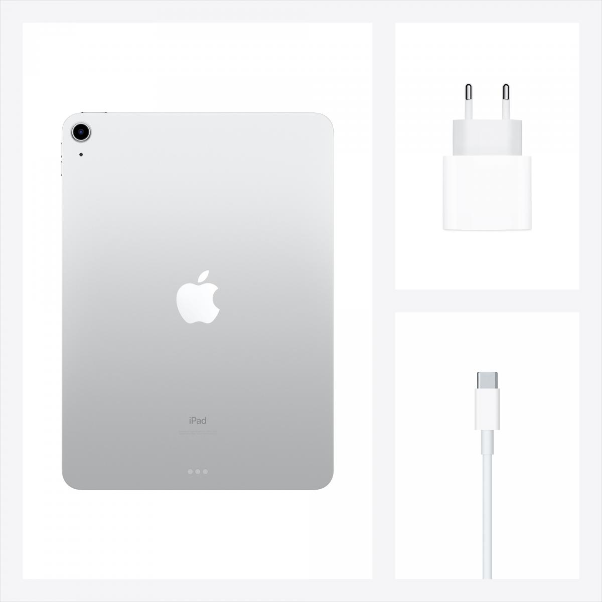 Планшет Apple iPad Air 10.9 (2020) Wi-Fi + Cellular 64GB Silver