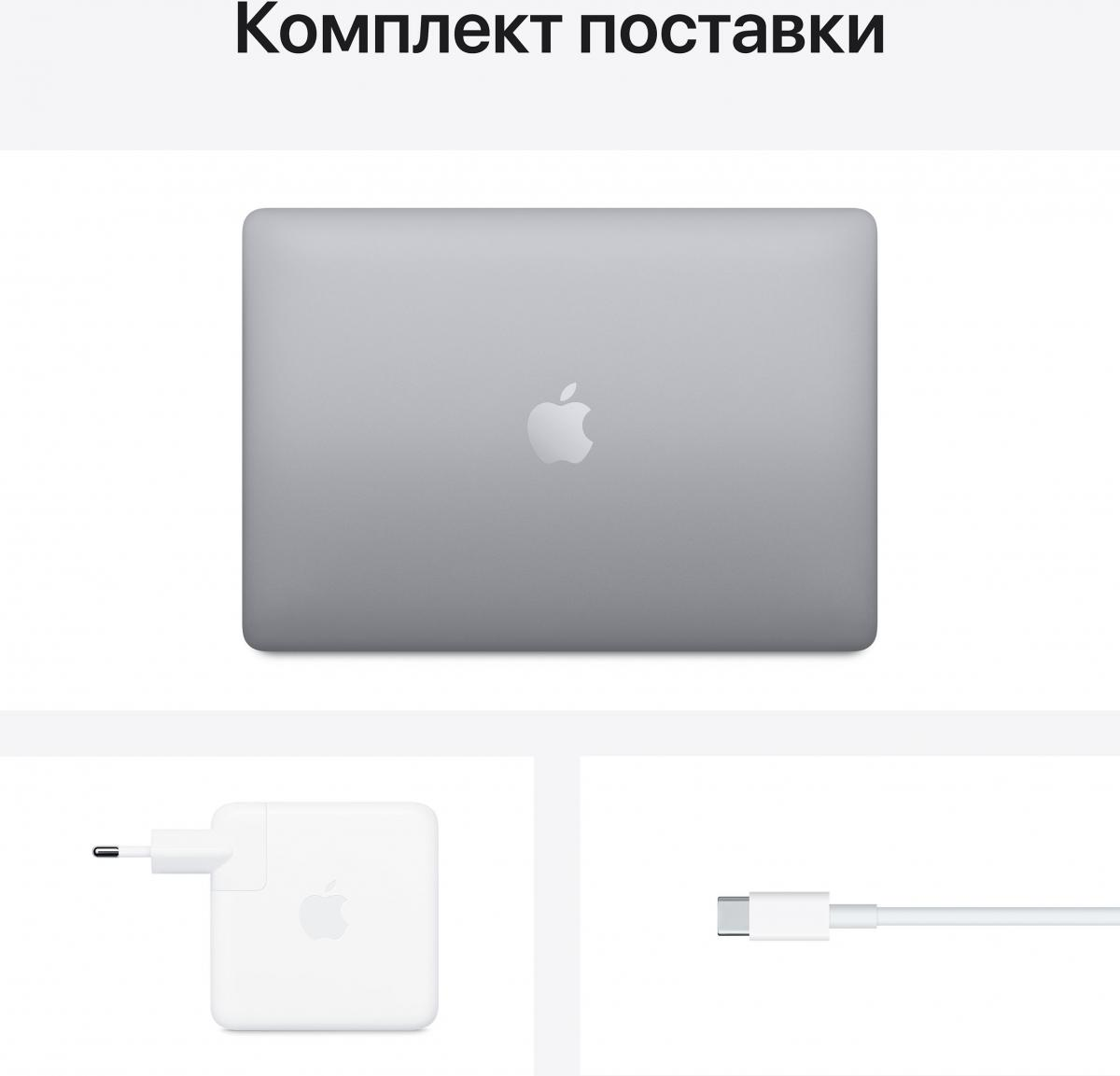 Ноутбук Apple MacBook Pro M1 13 Space Gray (16/256) (Z11B0004T)