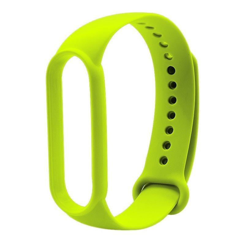 Mi Band 5/6 Wrist Silicon Strap Basic Lime (для Xiaomi Mi Band 5/6, браслет или ремешок) (для Xiaomi