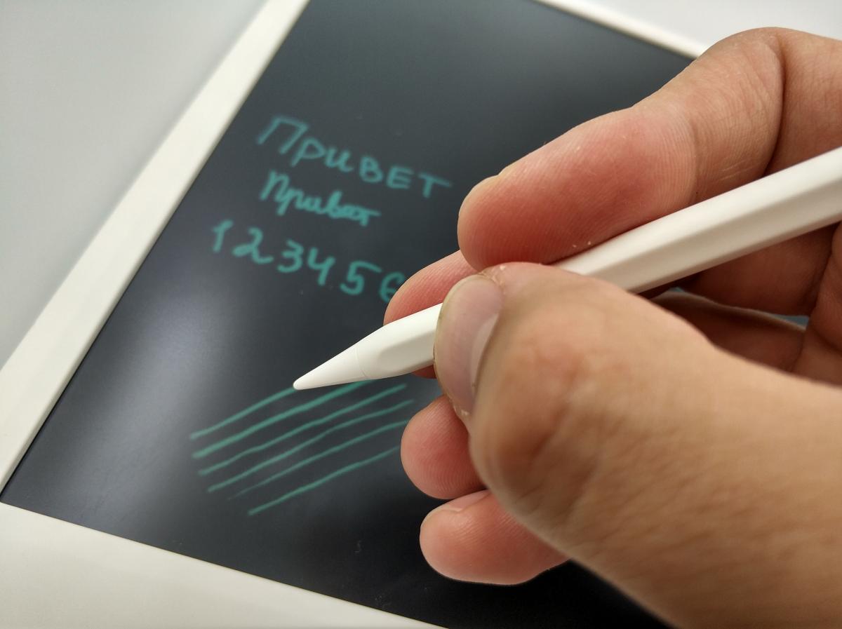 Xiaomi Mi LCD Writing Tablet 13.5 (детский графический планшет, LCD дисплей, 13.5 дюймов, карандаш