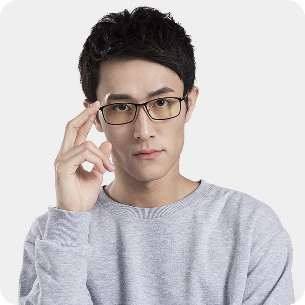 Компьютерные очки Xiaomi Mijia Adult Anti-Blue Goggles Pro Dark Blue (защита UV400, снижение излучен