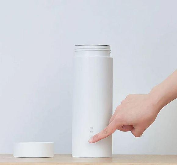 Термос Viomi Travel Electric Cup (400 мл, нагрев и поддержание температуры 12 часов, белый, 500 гр)