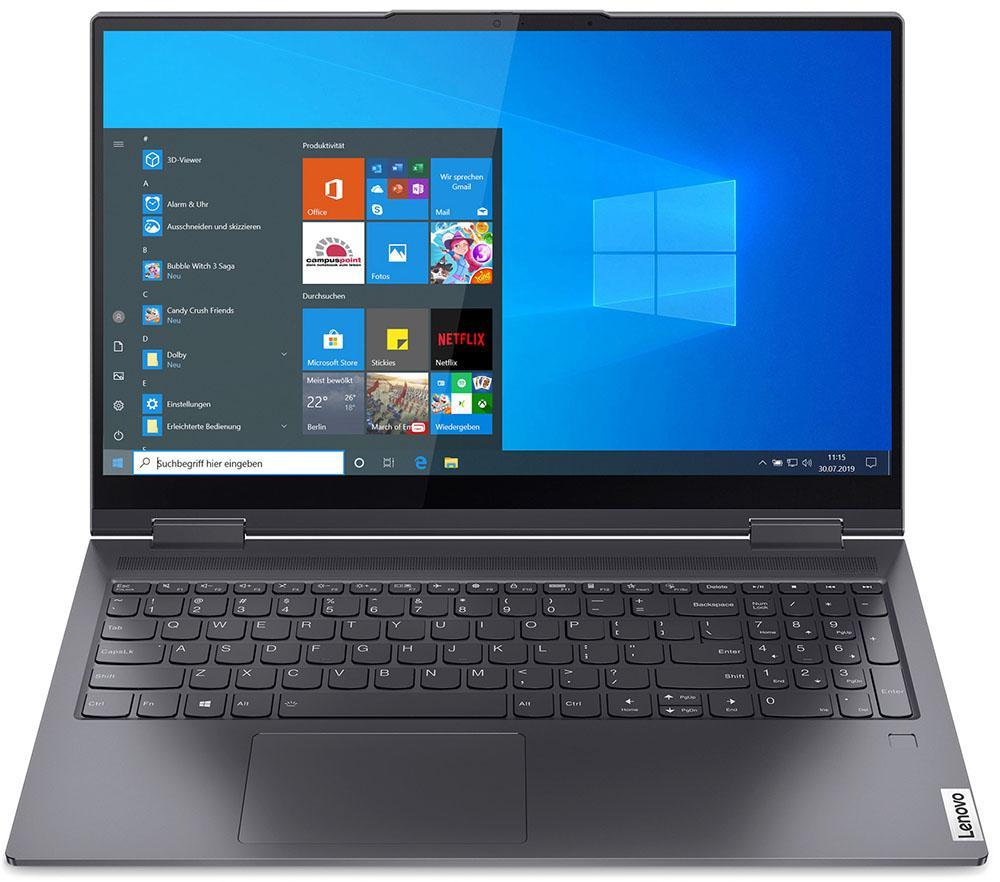Компьютерная техника Ноутбук Lenovo Yoga 7 15Itl5 Slate Grey 15.6 (Fhd I5-1135G7/16Gb/512Gb Ssd/W10) Лодейное Поле