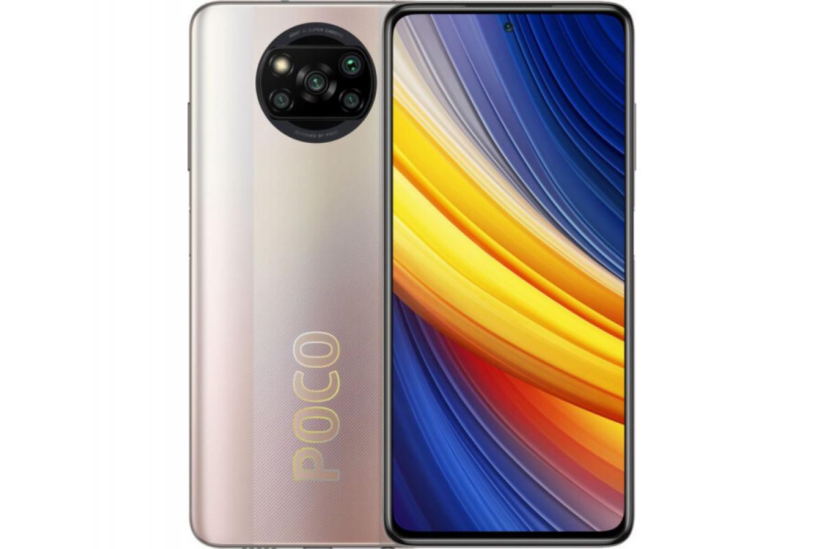 Смартфон Xiaomi POCO X3 PRO NFC 8/256Gb Metal Bronze