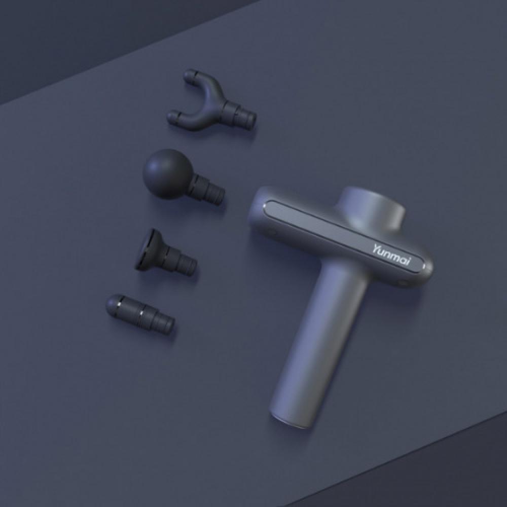 Массажный пистолет Xiaomi YUNMAI Massage Gun Pro Basic (для тела, 3 режима работы, пластик/нейлон, д