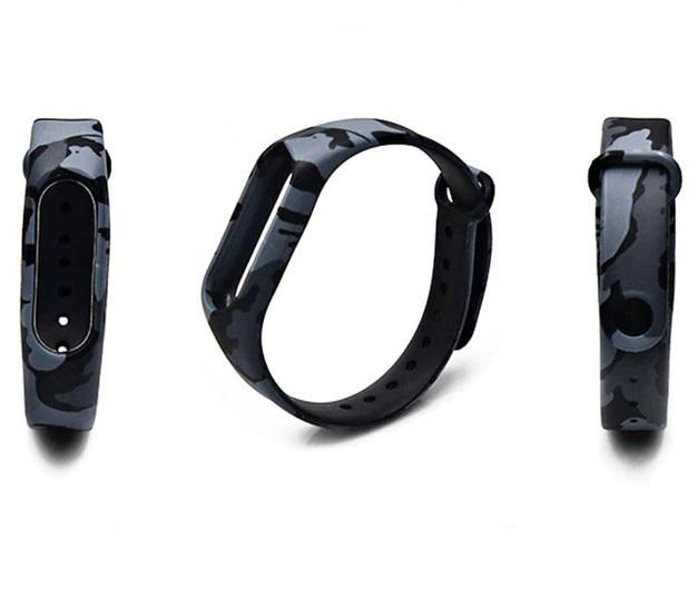 Mi Band 5/6 Wrist Silicon Strap Art 5 (для Xiaomi Mi Band 5/6, браслет или ремешок, черн (для Xiaomi