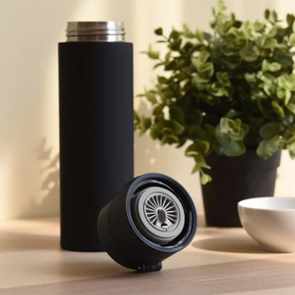 Термос Xiaomi Mijia Thermos Cup 2 Black (480 мл, черный, нержавеющая сталь, сохраняет 68°С в течение