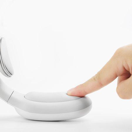 Массажер для шеи Intelligent Neck Massager (с дополнительным подогревом, метод электромиостимуляции,