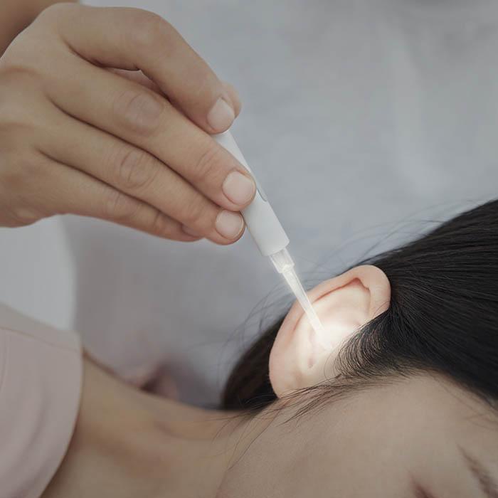 Набор для ухода за ногтями и ушами Xiaomi Huo Hou Led Portable Ear Nail Care Kit