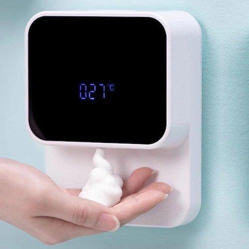 Настенный автоматический дозатор для мыла Xiaowei X5s (280 мл, USB, с LED-подсветкой)