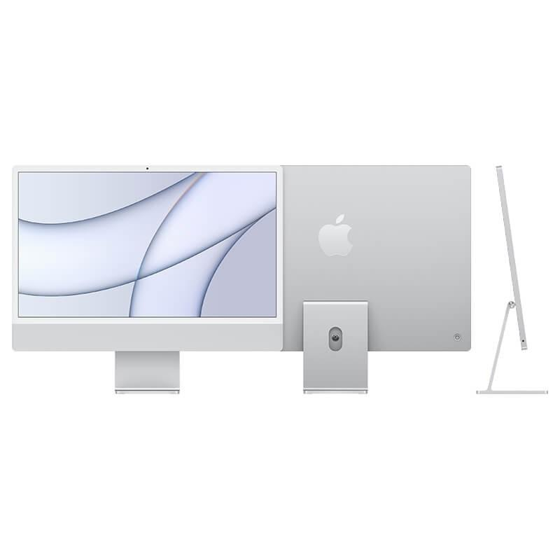 Компьютер Apple iMac 24 Retina 4,5K, M1 (8C CPU, 7C GPU), (8/256) Silver