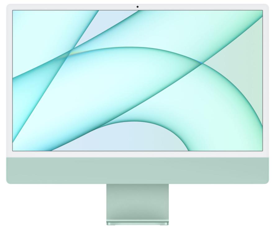 Компьютер Apple iMac 24 Retina 4,5K, M1 (8C CPU, 7C GPU), (16/256) Green